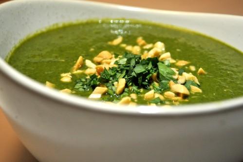Spinat Kokos Suppe